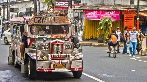Dos primeras semanas en Manila, Filipinas