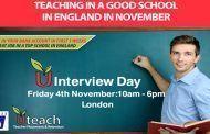 Oferta de trabajo para profesores en Inglaterra, más de 100 vacantes