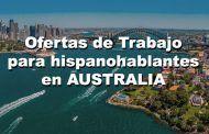 Ofertas de trabajo para españoles en Australia