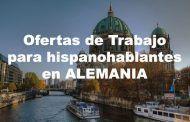 Ofertas de trabajo para españoles en Alemania