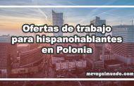 Ofertas de trabajo para españoles en Polonia