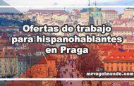 Ofertas de trabajo para españoles en Praga