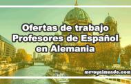 Ofertas de trabajo para profesores de español en Alemania