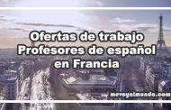Ofertas de trabajo para profesores de español en Francia