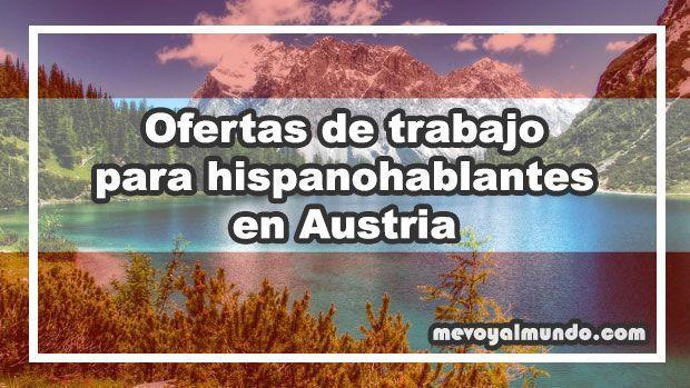 Ofertas de trabajo para hispanohablantes en austria - Oferta de empleo en londres ...