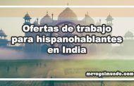 Ofertas de trabajo para hispanohablantes en India