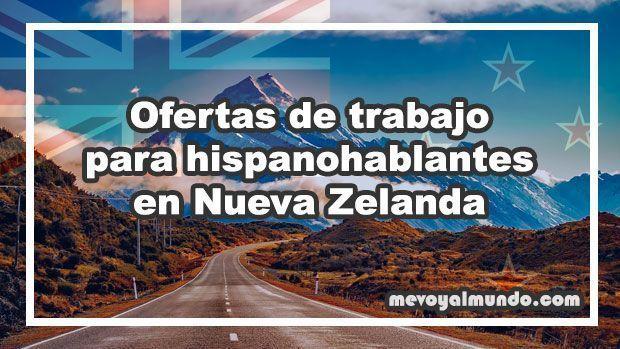 Ofertas de trabajo para hispanohablantes en nueva zelanda - Ofertas de empleo londres ...
