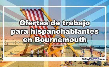 Ofertas de trabajo para españoles en Bournemouth