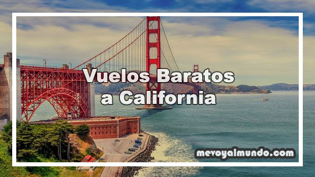 Vuelos baratos a California