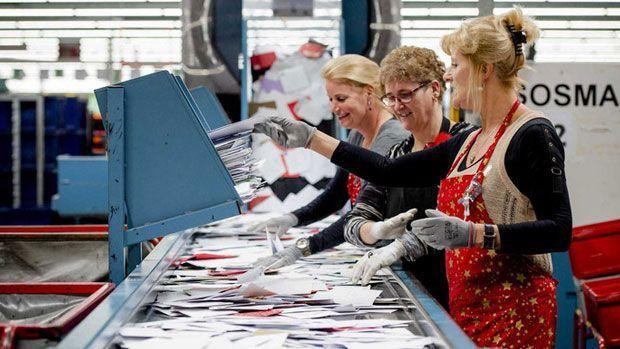 Trabaja en el Correos de Holanda
