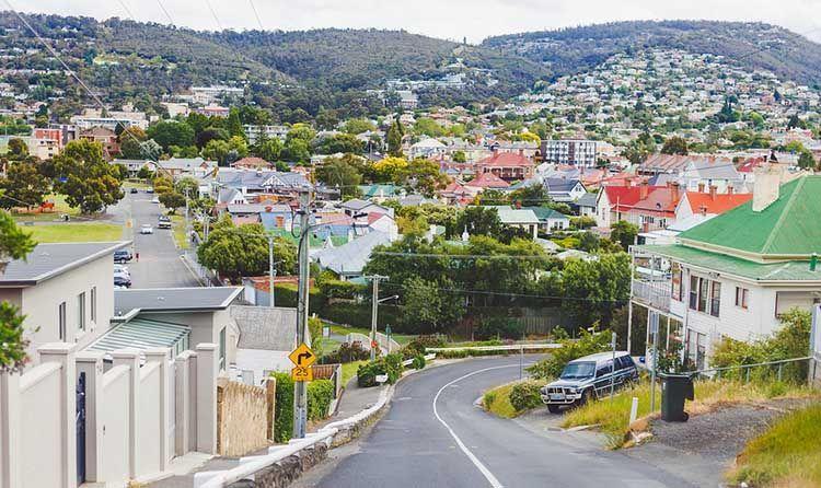 Vivir en Hobart, Australia.