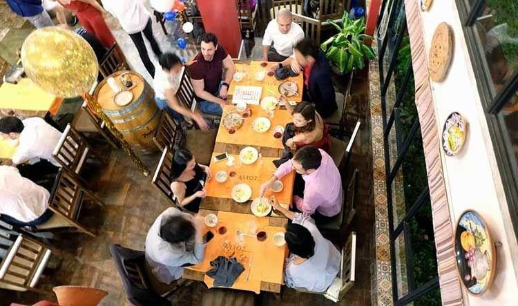 Restaurante español en Bangkok