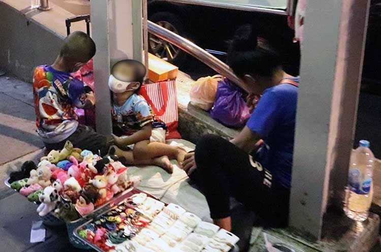 Niños en la calle, Tailandia