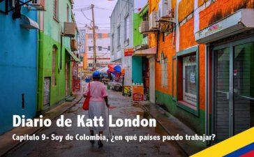 Soy de Colombia, ¿en qué países del extranjero puedo trabajar?