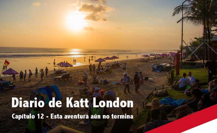 Katt London en Bali
