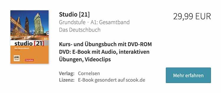 Mejor libro para preparar el Goethe A1