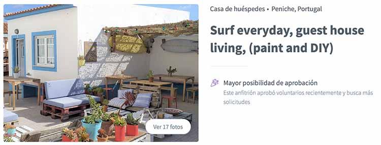 Voluntariados en Portugal